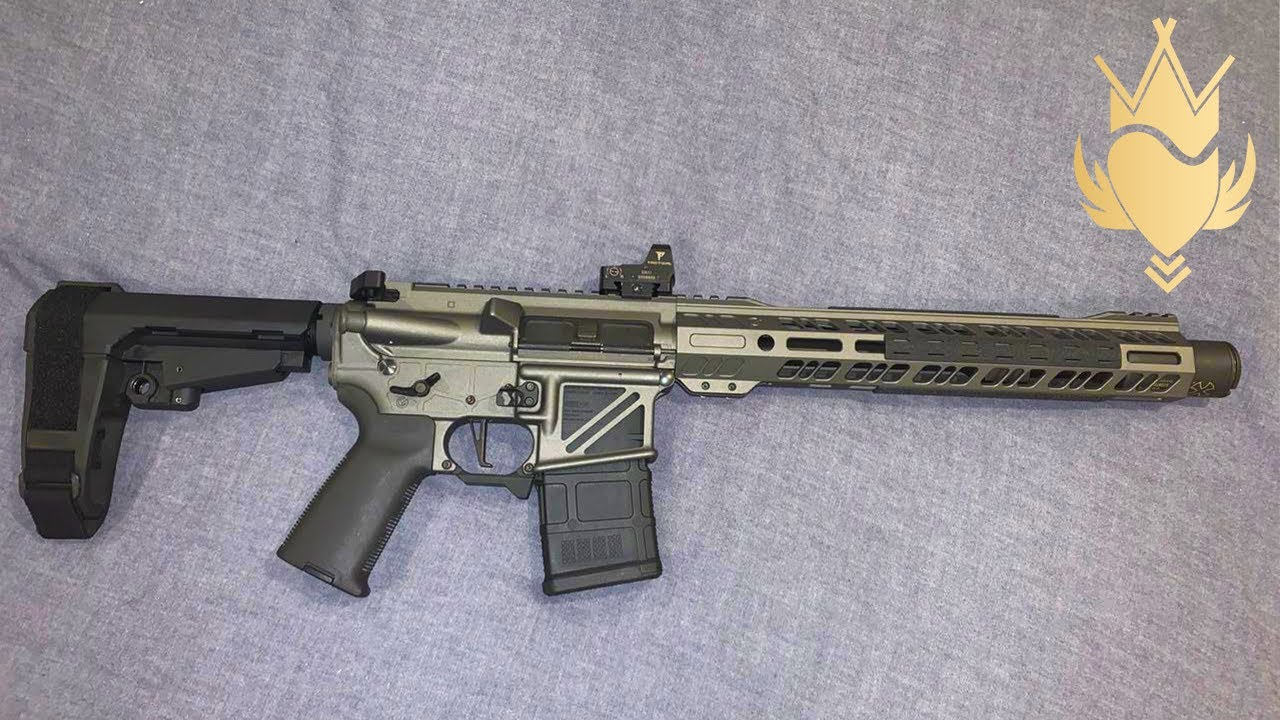 Building A Guccied Out AR15 for A Friend