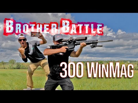 300 Win Mag Brother Battle | Gould Brothers