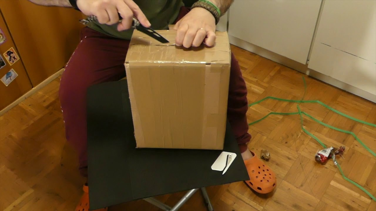 Unboxing di ............. ( puntata 1)