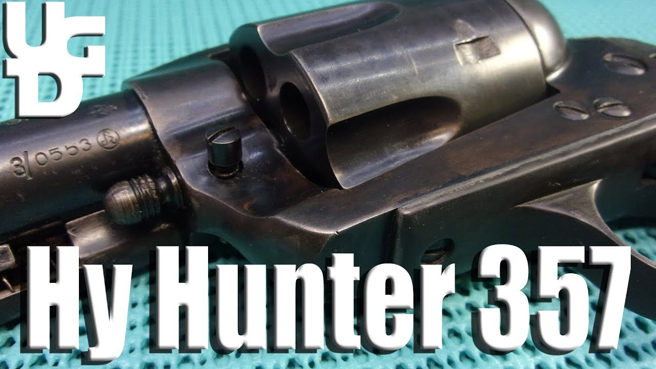 Hy Hunter Frontier Six Shooter in the 357 Mag Range Review