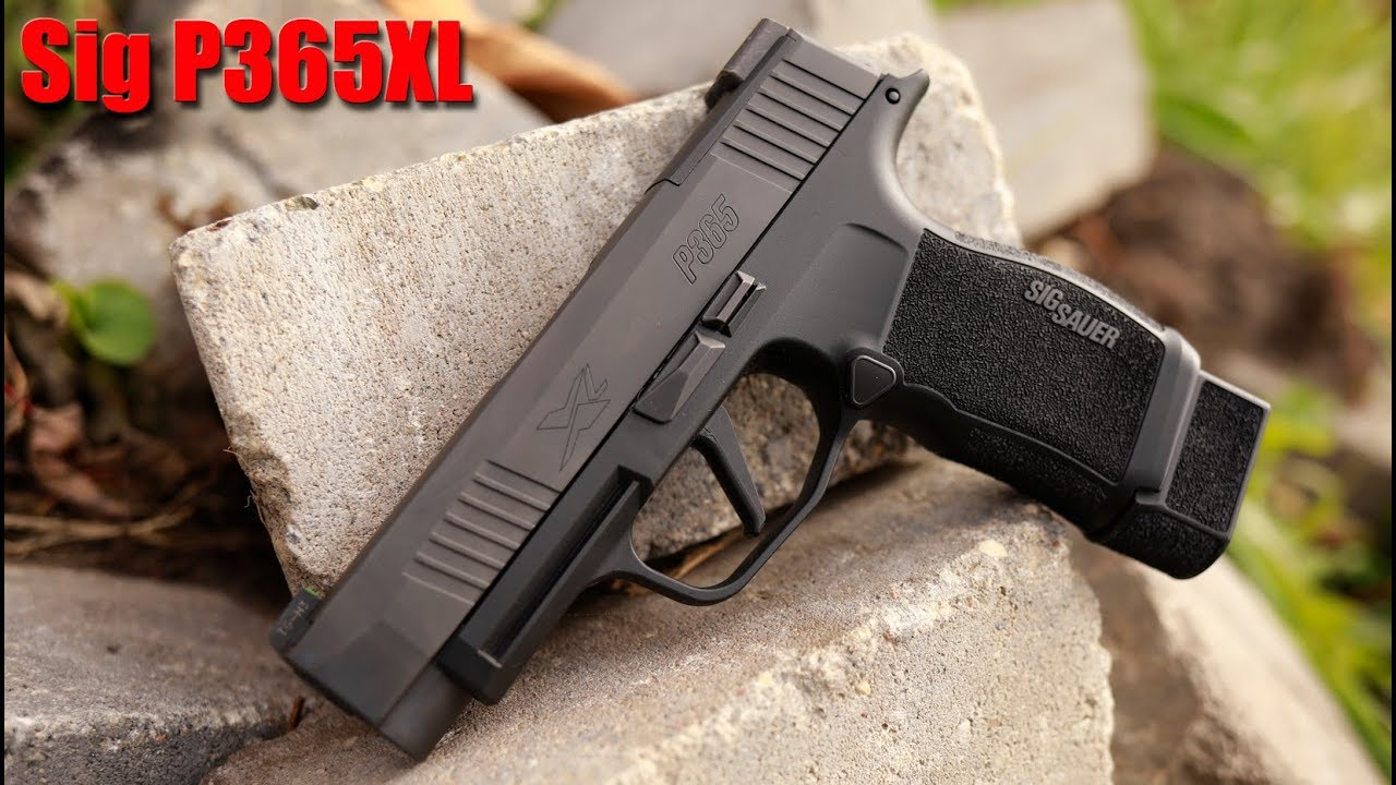 Sig Sauer P365 XL First Shots & Impressions