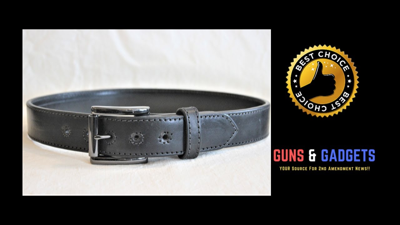 Custer Custom Leather Gun Belts