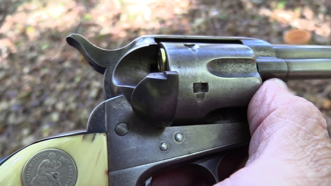 Colt Frontier Six Shooter Close-up