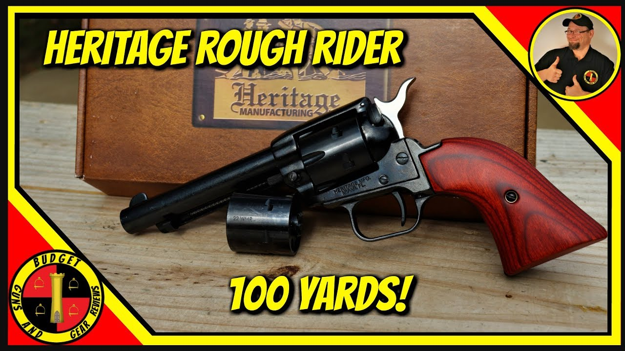 Heritage Rough Rider .22 Caliber Revolver- Rough Rider Revisited!
