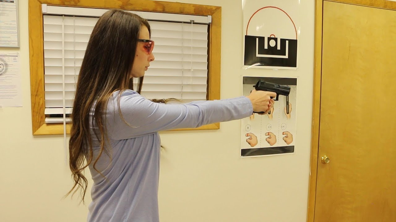 Shooting an HK P30 In My Office
