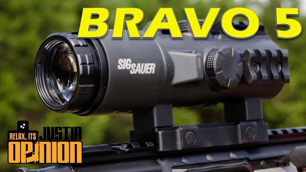 SIG Sauer BRAVO 5 Rifle Scope