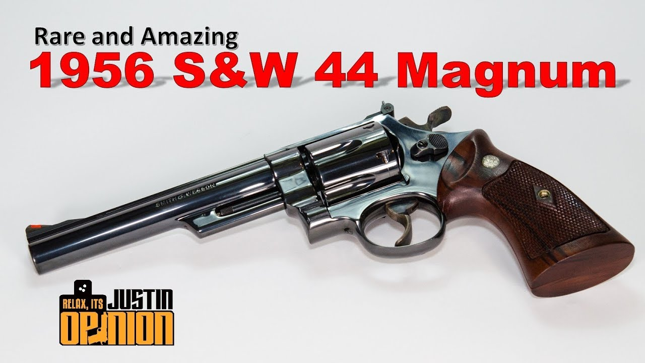 S&W's Original 44 Magnum - A rare and beautiful pre-Model 29