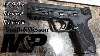 1800+ Round Review Of Smith & Wesson M&P 2.0 9mm Pistol!