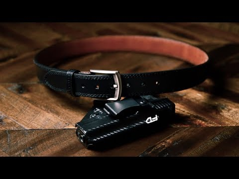 EDC Leather Gun Belt 2019 by Vedder Holsters