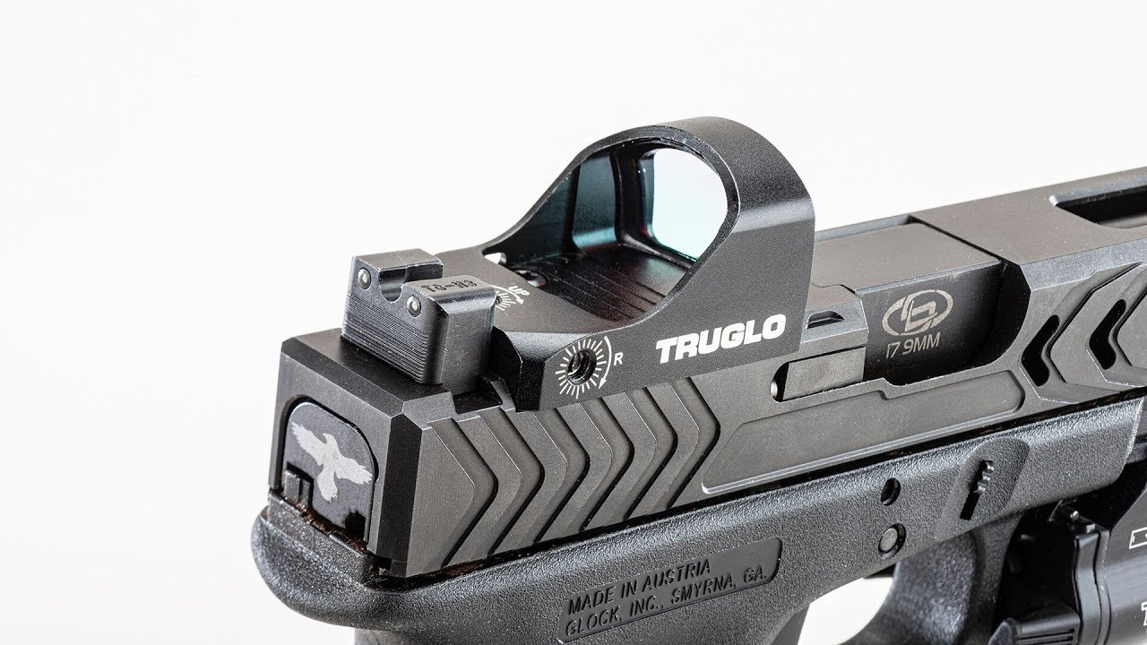 Range Time with the POF/Glock Build and New TruGlo Sights and Tru-Tec Red Dot #780