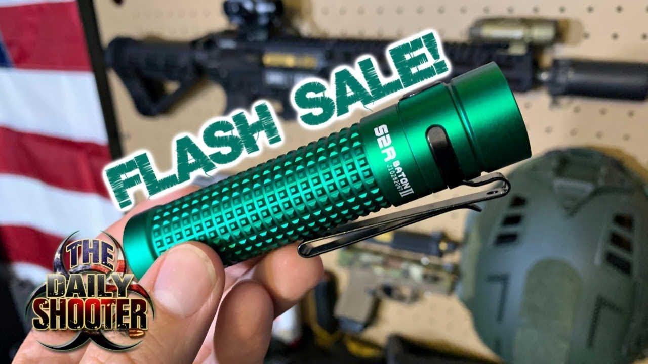 Limited Edition Olight Flash Sale S2R Baton II