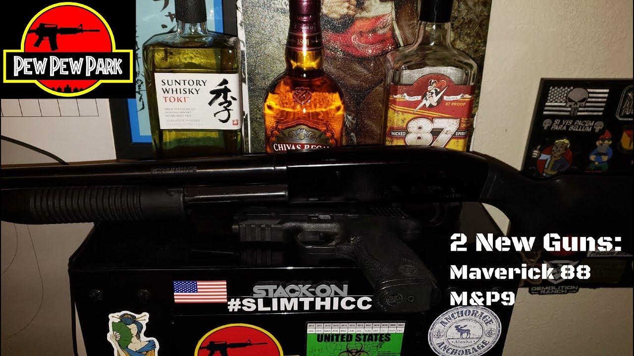 Two New Guns: Maverick 88 & M&P 9