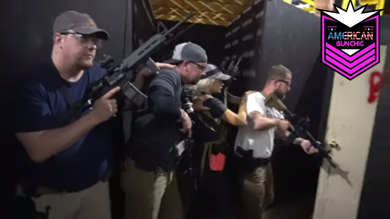 Day (2b) Afternoon CQB Course w/Tactical Rifleman!!  Room Clearing!!!  (Part 3)