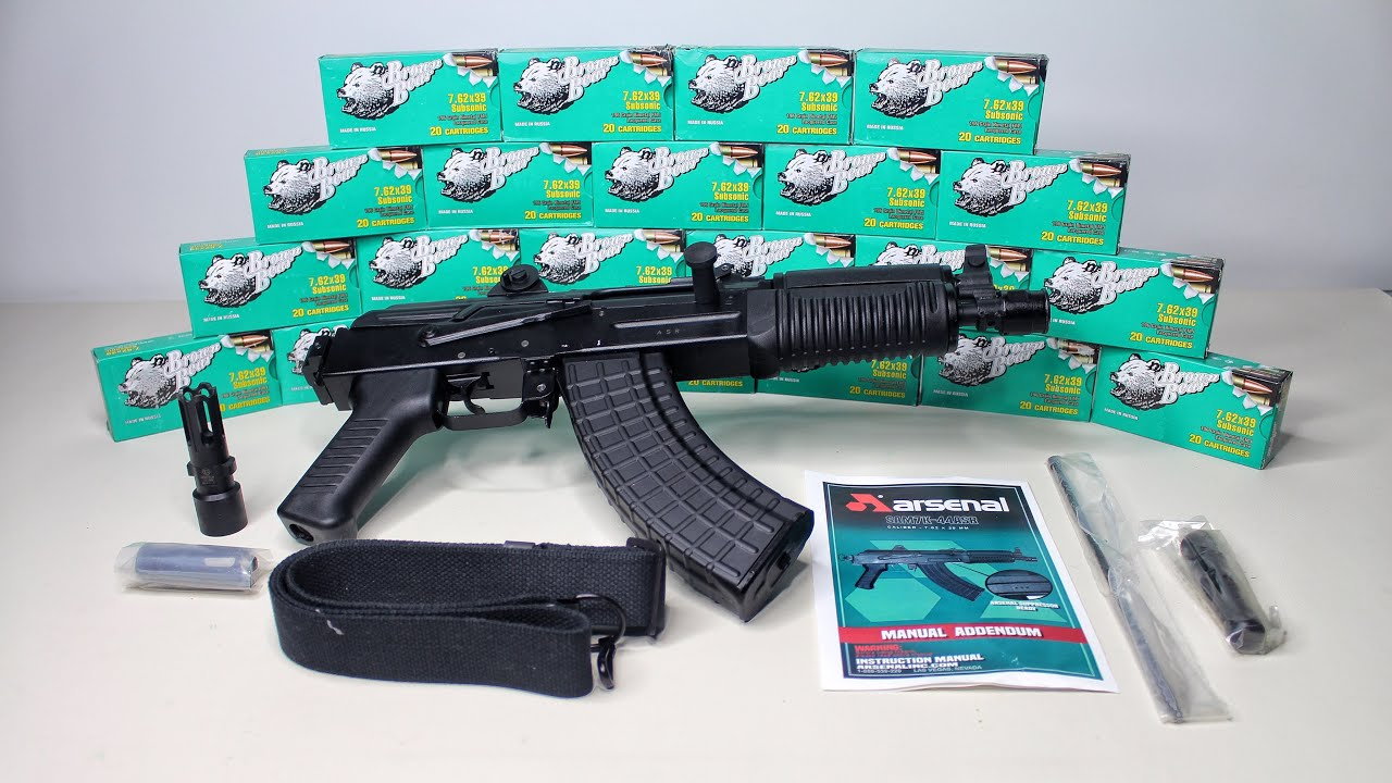 SAM7K ASR (Arsenal Suppressor Ready) Unboxing