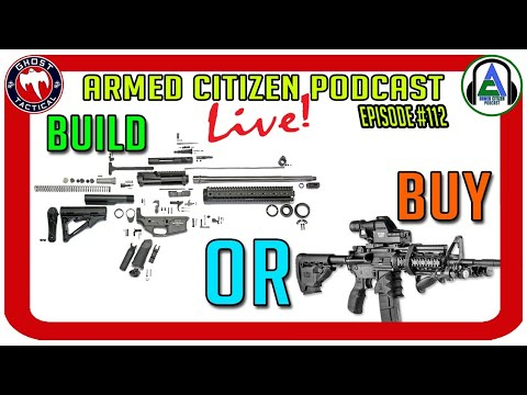 AR-15s:  Should You Build Them or Buy Them?