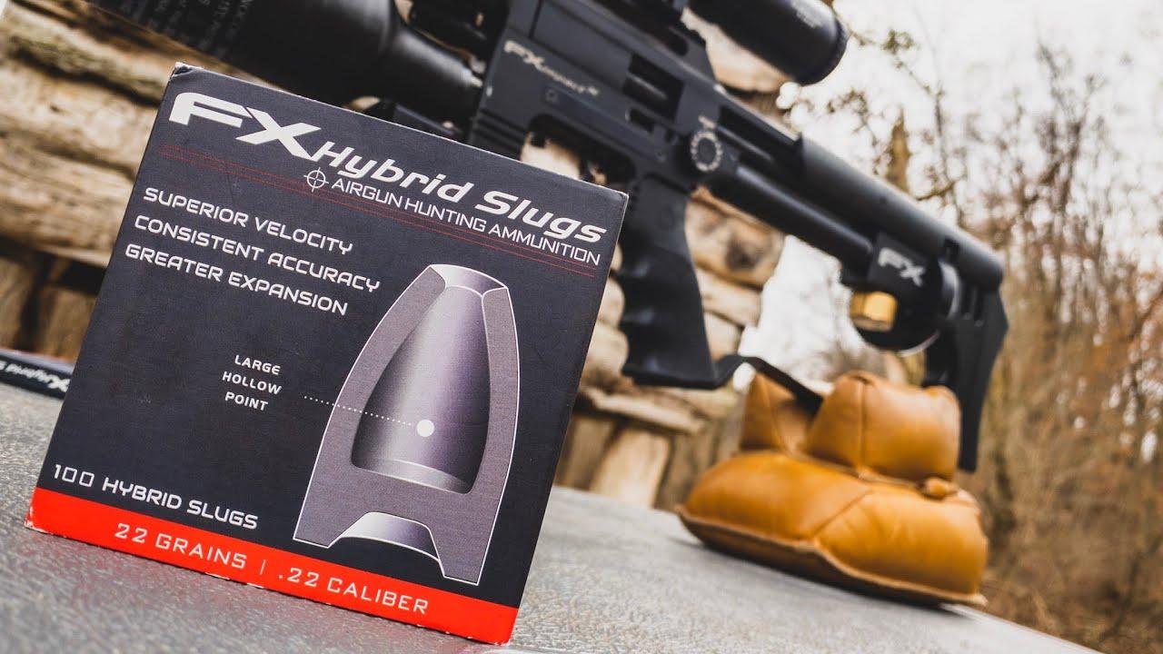 FX Hybrid Slugs | 22 Grains | .22 Caliber | 100, 200, & 300 Yard Ballistic Testing