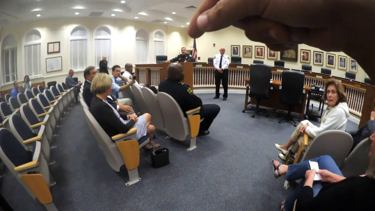 Everyone Of You Needs To Be Fired Town of Palm Beach, Florida Town Hall Meeting