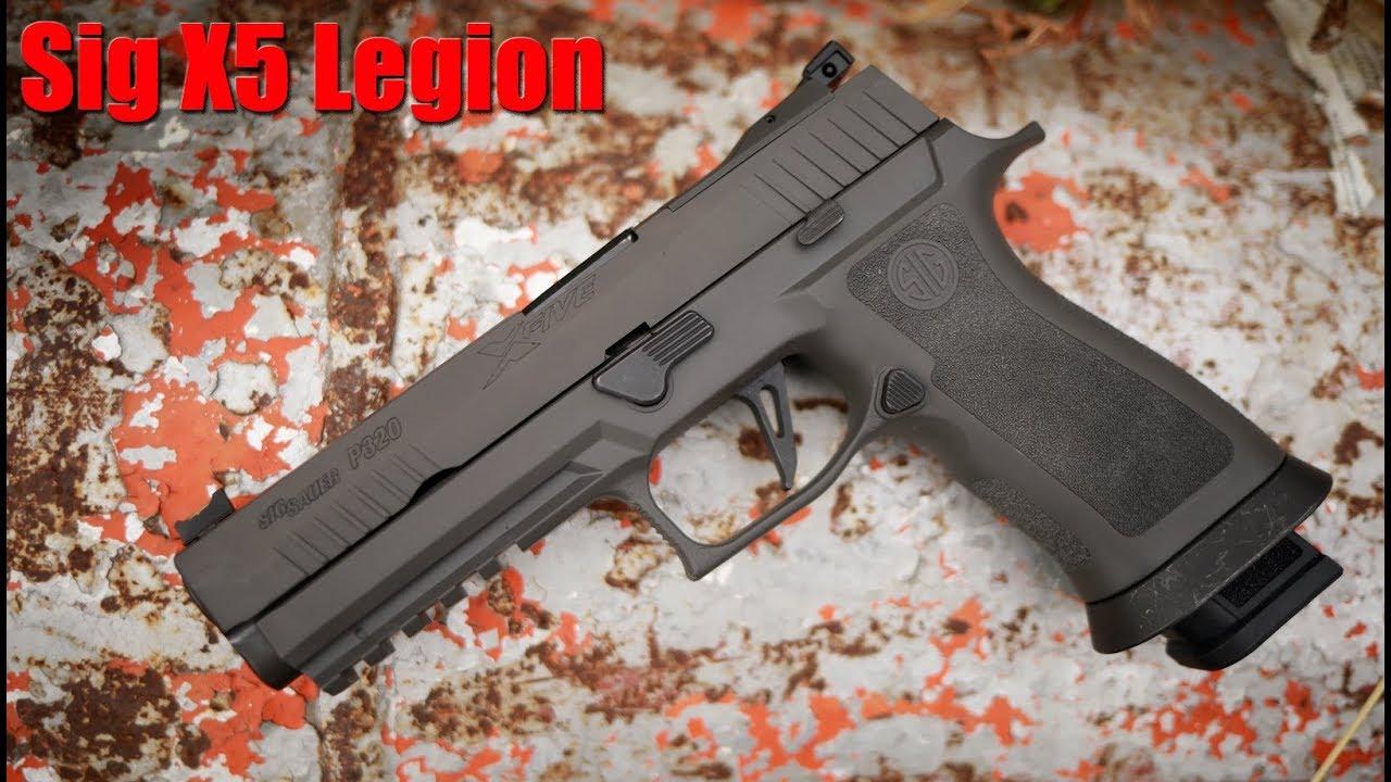Sig Sauer P320 X5 Legion 1000 Round Review: The Best Sig Pistol?