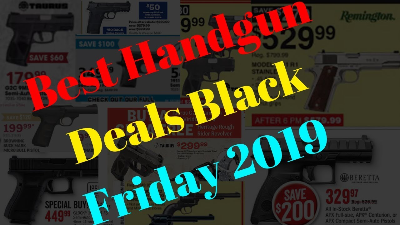 The Best Black Friday 2019 Deals on Handguns