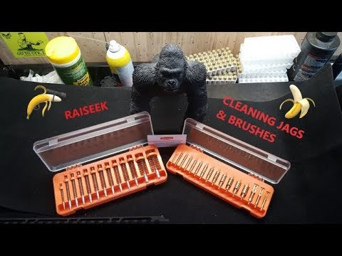 Raiseek Cleaning Jags and Brushes