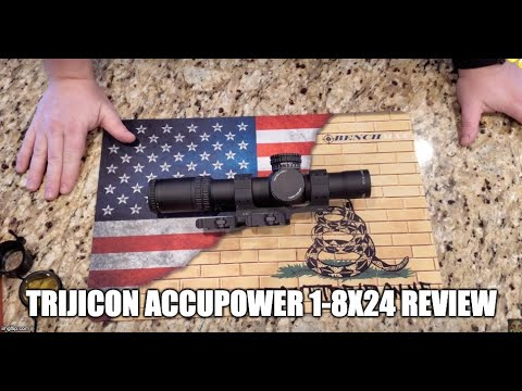 Trijicon AccuPower 1-8x24 Review | The Good & The Bad