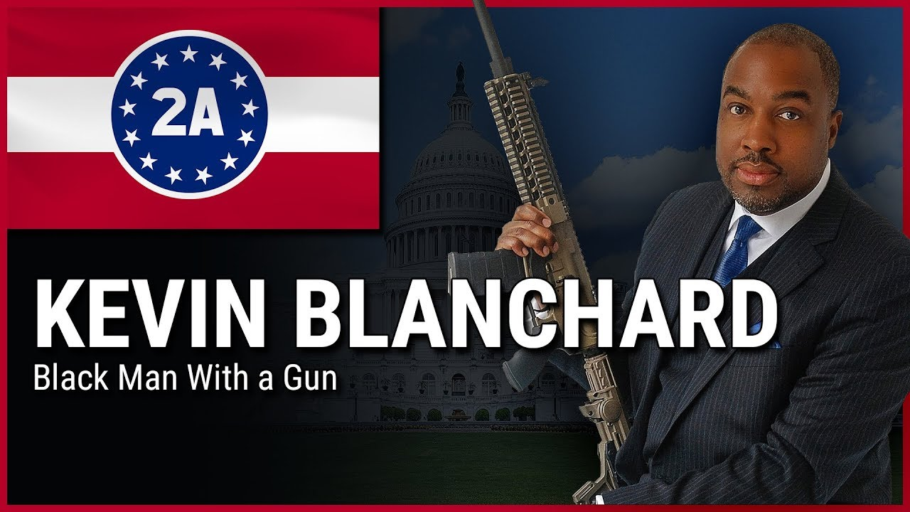 Kenn Blanchard ( Black Man With A Gun ) - 2A Rally For Your Rights