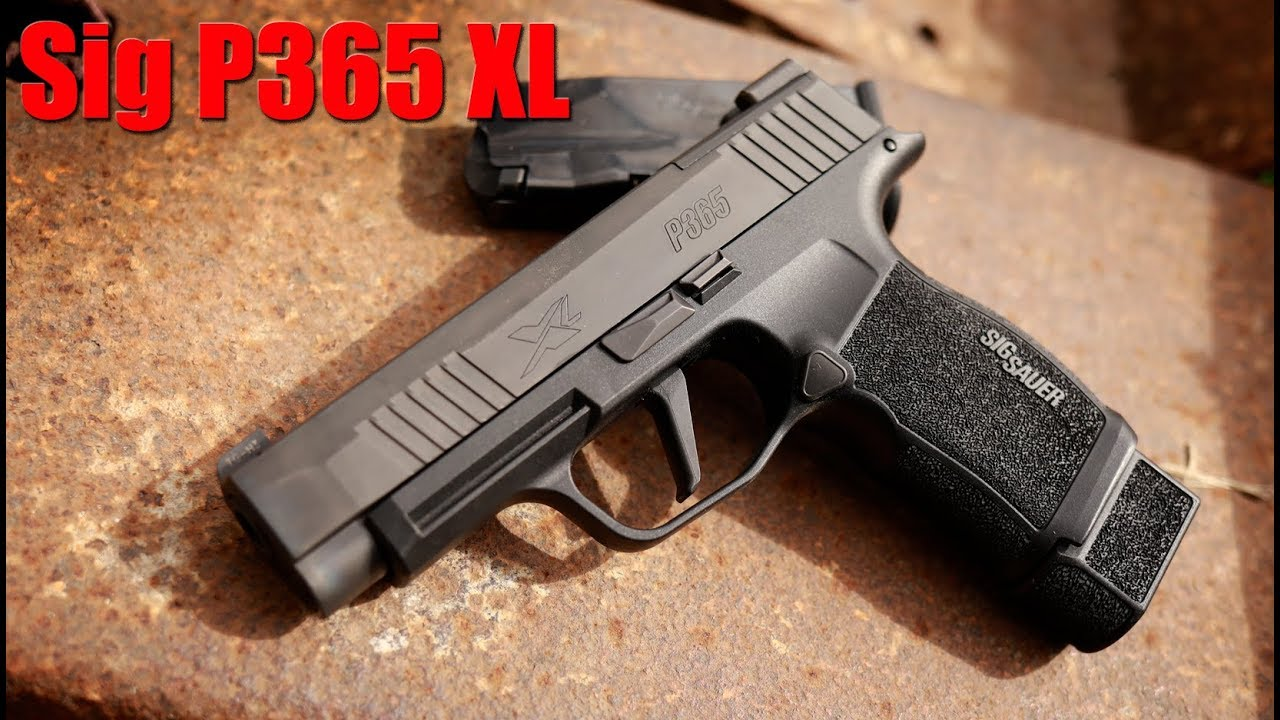 The Truth About The Sig Sauer P365 XL: 1000 Round Review