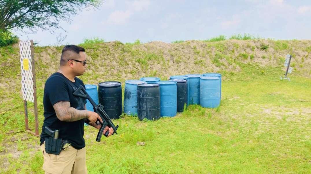 HK MP5k w/ Franklin Armory binary trigger