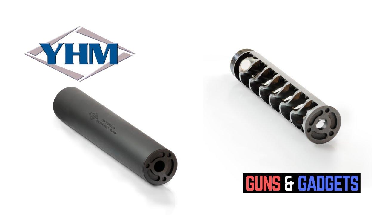 Yankee Hill Machine: 9mm Sidewinder Suppressor