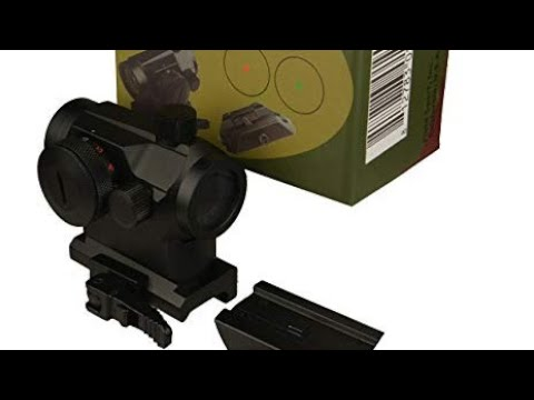 FieldSport micro red dot with QD mount.