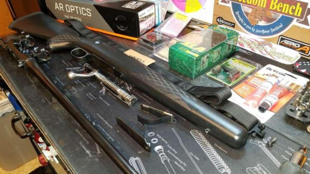 M96 Sporterized Swedish Mauser / Part - 3 GS