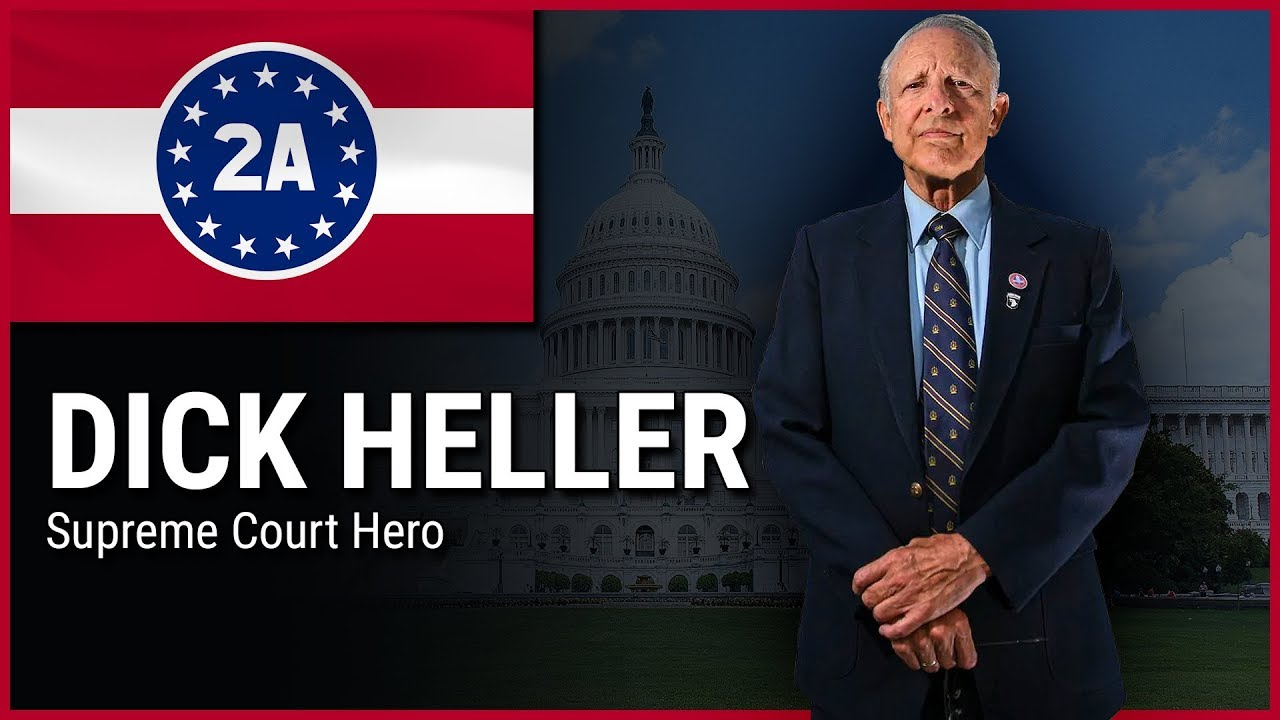 Dick Heller - 2A Rally For Your Rights