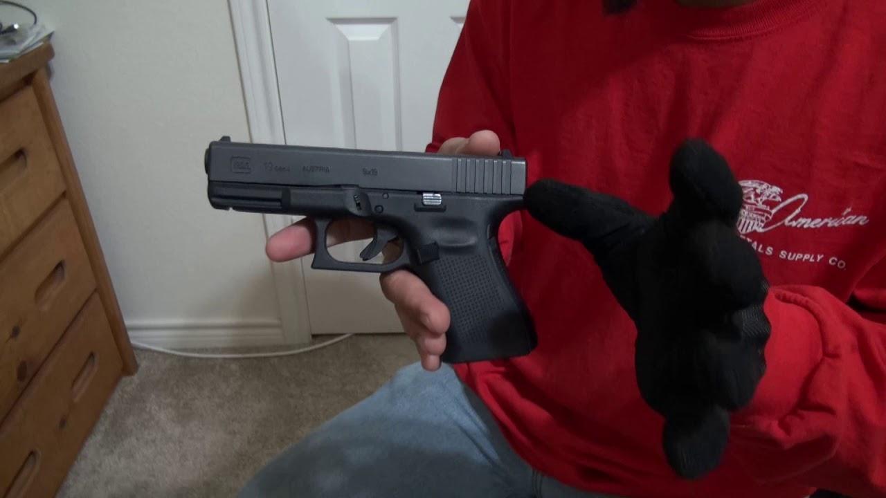 Glock 19 Gen 4 Purple Label Range Day