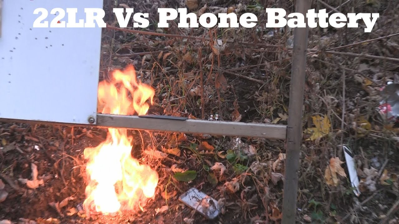 22LR vs Phone Battery