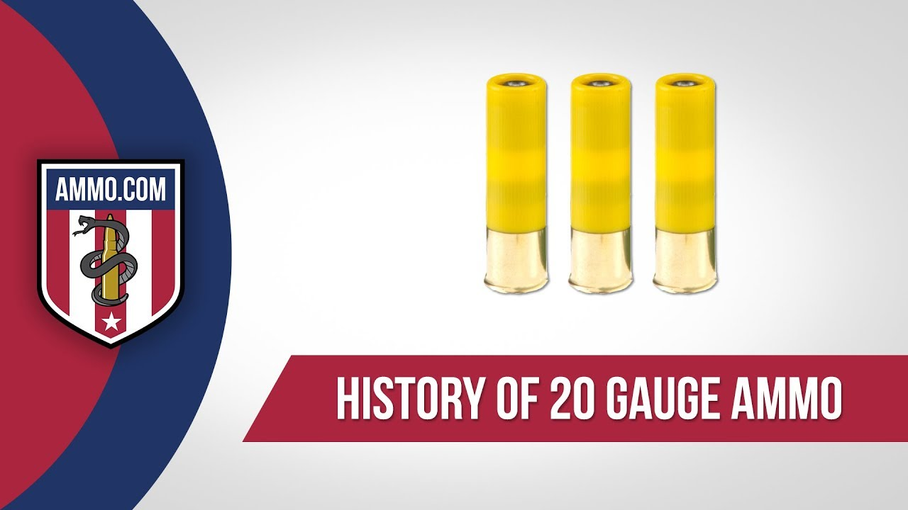 20 Gauge Ammo - History
