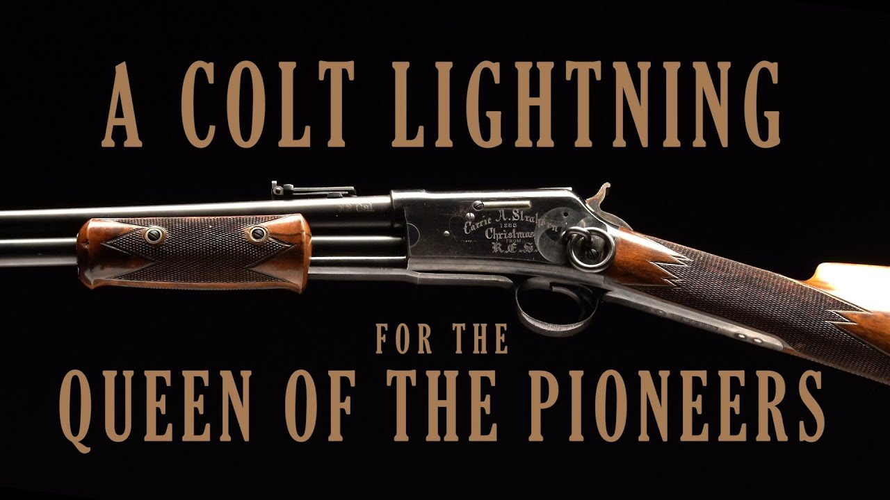 A Colt Lightning for the Queen of the Pioneers