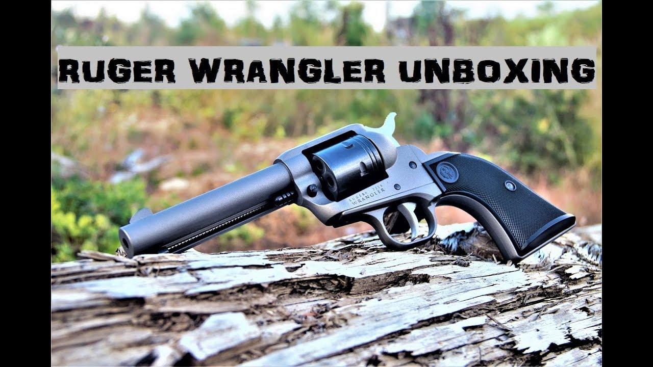 Ruger Wrangler Unboxing