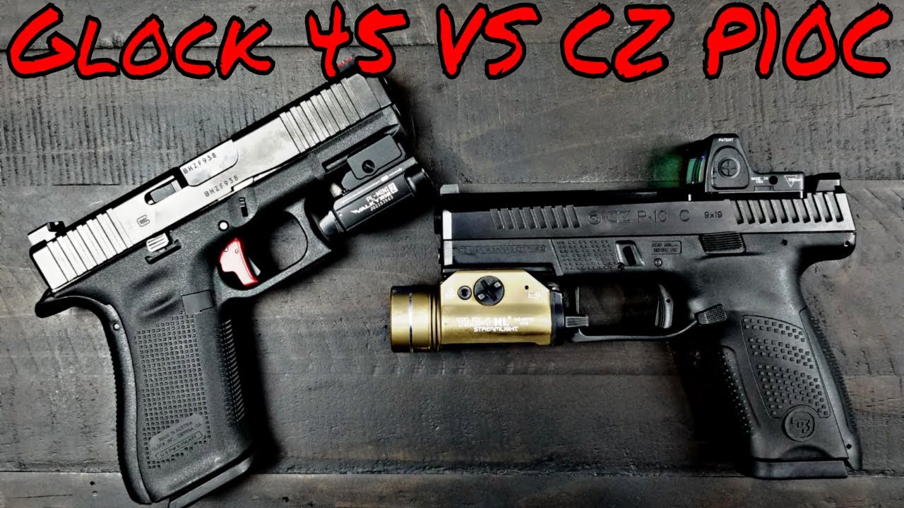 Glock 45 VS CZ P10C Compact Kings