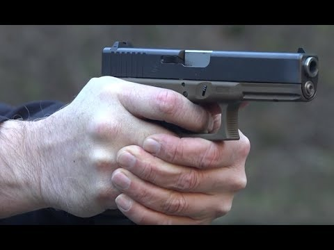 Glock 17 Gen 4 DPM Systems Recoil Reduction System