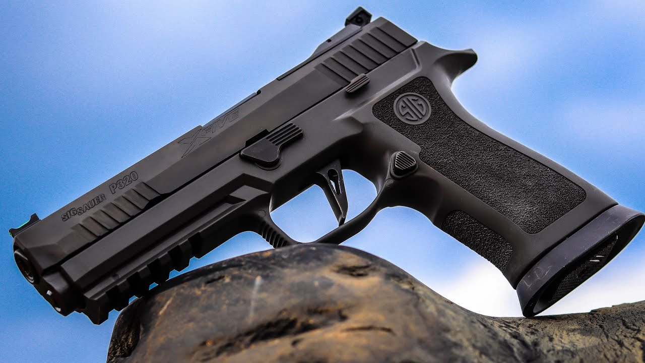 SIG P320 X5 Legion | The Best Competition Ready Pistol?