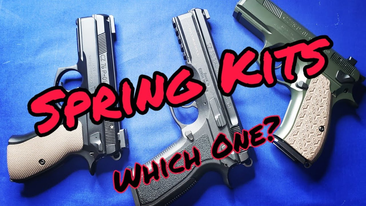 CZ Spring Kits: CGW, M-CARBO, Apex