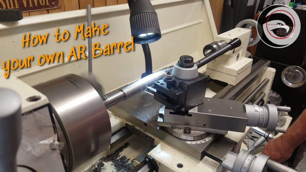 Build your own AR Barrel from a blank | 358 Legend barrel Build