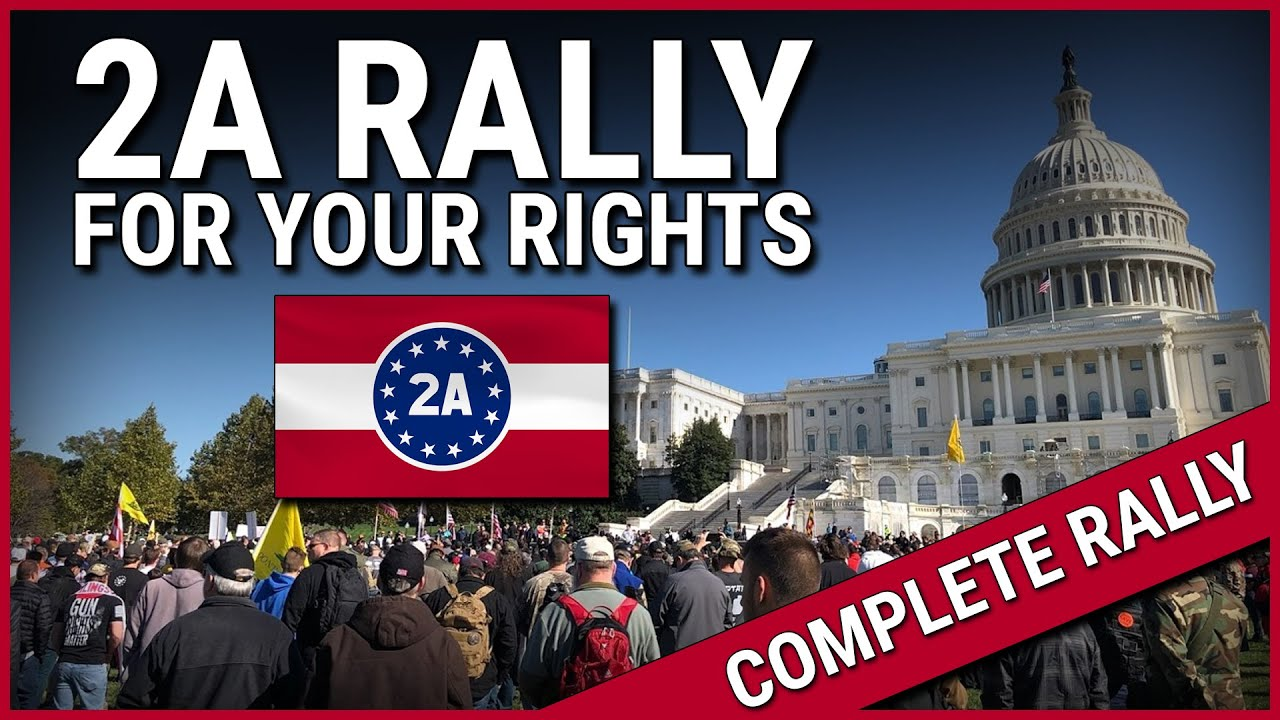2A Rally For Your Rights! ( Complete Rally )