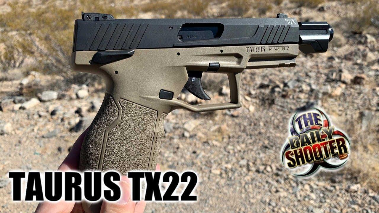 Taurus TX22 FDE 22lr Review & Testing