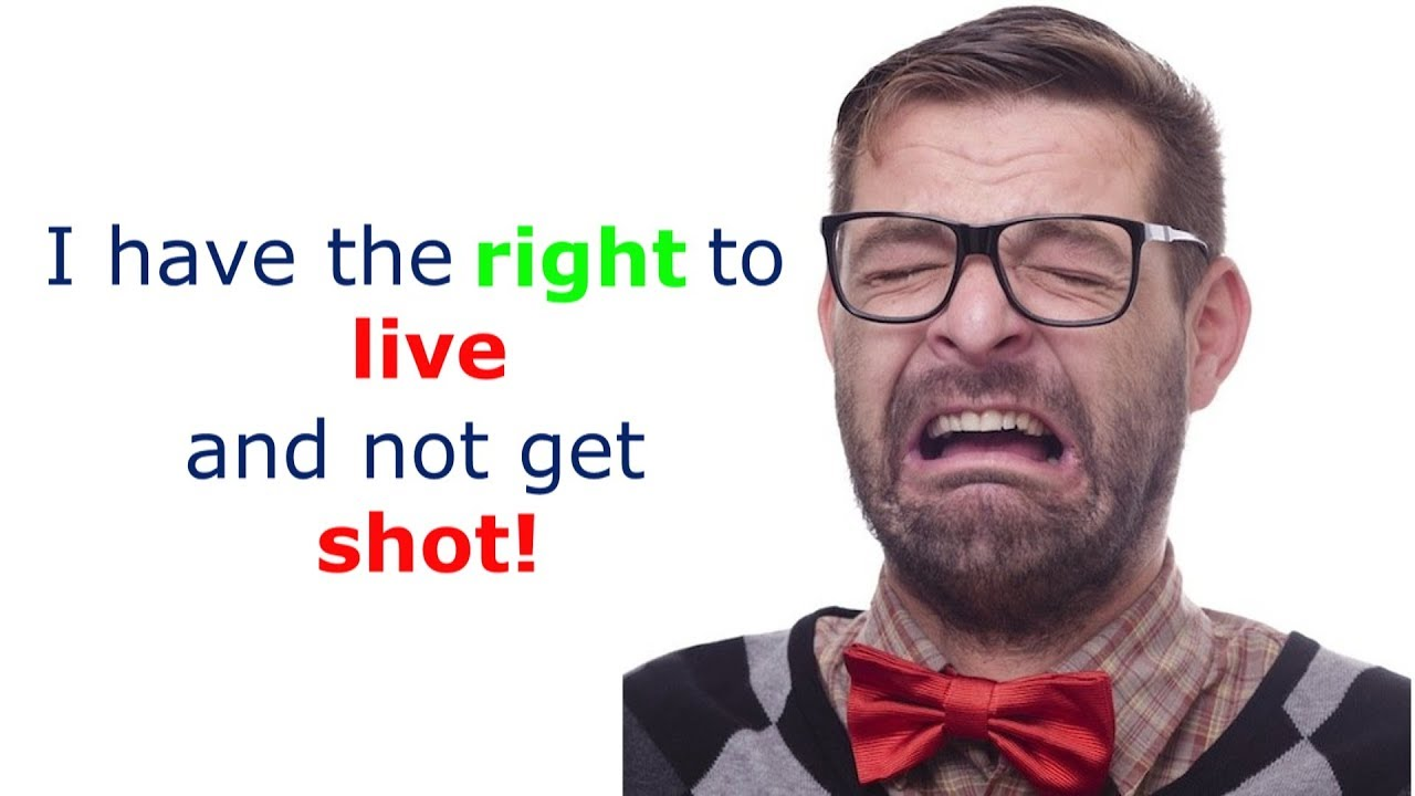 I have the right to live and not get shot!!  #GunControl #GunReform Via @RunNGunsNews