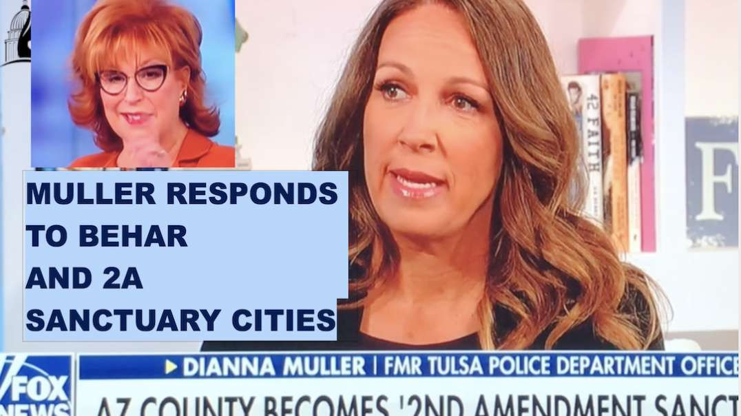 Dianna Muller Responds to Joy Behar #2A Sanctuary Cities on Fox
