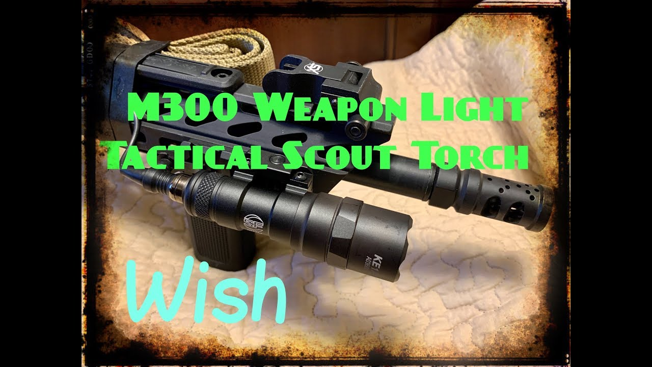 M300 weapon light from WISH