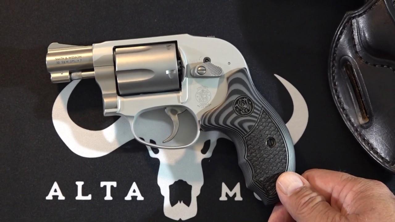 Altamont Grips - S&W Model 638 J-Frame upgrade