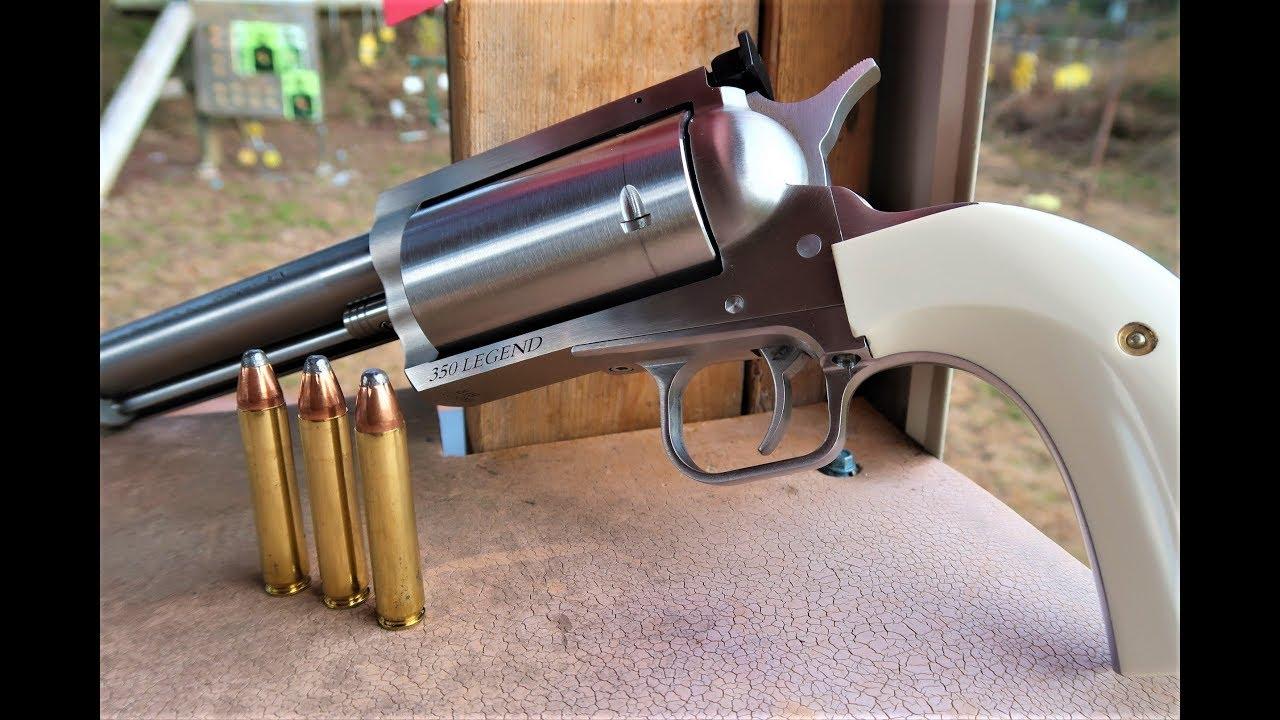 350 Legend Revolver - THE BFR