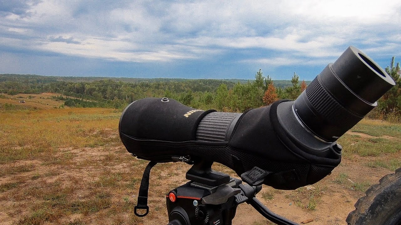 Nikon 82ED Spotting Scope | How We Film Bullet Trace